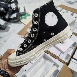 Converse 1970 shoes Nouveau Luxe Classic Skate Skate Chaussures Chuck Canvas Jouer conjointement Big Eyes High Top Dot Heart Femmes Hommes Mode Designer Sneakers Chaussures 36 44