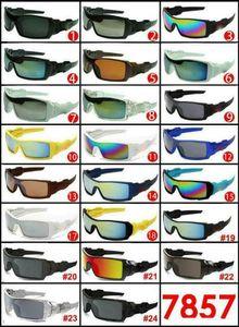 Lunettes de soleil imprimées populaires pour hommes et femmes Sport extérieur Sun Verre lunettes de soleil lunettes de soleil Sunglasses Hommes Fashion Lunettes MOQ 10 paires