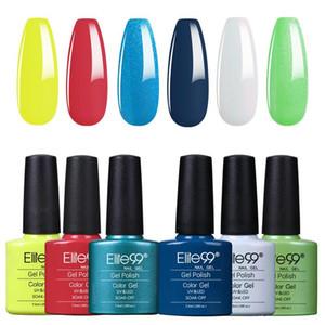 Elite99 7.3ml Classic Color Bottle Gel Nail Polish Set 6Pcs Soak Off UV LED Semi Permanent Nail Varnish Art Manicure Kit