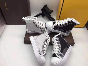 아기 스포츠 신발 아이 소녀에 대 한 높은 패션 신발 디자이너 흰색 실행 패션 구두 운동화 소년 블랙 가죽 디자이너 신발 EU 26-35