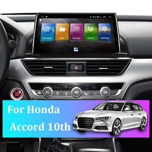 China For Honda Accord 10th GPS Car Navigator 9 Inch Stereo Radio Multimedia Video Player Auto Truck Sat Navigation Latest Maps