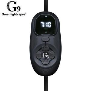 Original GreenLightVapes G9 TICK Enail V2 Kit Kit Calentador de bobina Control de temperatura DAB Dispositivo Vaporizador DNAIL para concentrado de cera Dabber Box