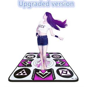 Original KL English Menú 11 mm Espesor Individual Danza Sin deslizamiento Pad Yoga Mat 2 Control Remoto Sense Game para PC TV Y200413