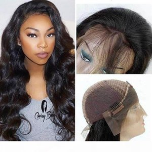 Pre Plucked Body Wave Lace Front Wigs with Baby Hair Unprocessed Brazilian Peruvian Malaysian Virgin Human Hair Weave Wigs Natural Hairline