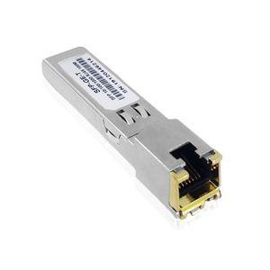 Gigabit RJ45 SFP Module 10 100 1000 SFP Copper RJ45 Transceiver Module Compatible For  Mikrotik Ethernet Switch