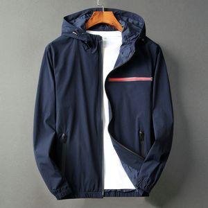 20ss homens jaqueta designar hoodies parka primavera e outono casaco zíper com capuz painéis epaulet jaqueta bombardeiro motocicleta Rosto North Jacket