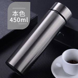 Stainless Steel Thermal Water Bottle Vacuum Insulated Flask 450ml Insulate Thermos Tea Mug With Strainer Thermo Mug Coffee Cup B 140 J2