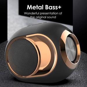 X6 Bluetooth Speaker Portable Wireless Loudspeaker Super Bass Music Stereo Speaker For Phone PC Waterproof Outdoor travel wireless subwoofer