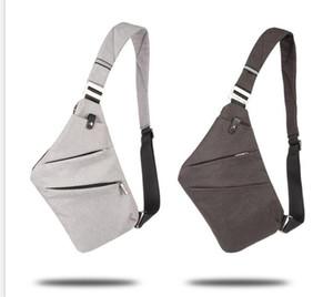 Paquetes de pecho de los hombres bolsas de los hombres bolsos de un solo hombro impermeable Nylon Crossbody Crossbody Bolsa Nylon impermeable Sling Mochila