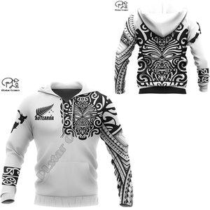 PLstar Cosmos New Zealand Country Maori Aotearoa Tribe Tattoo Symbol 3Dprint Men Women NewFashion Harajuku Hoodies Pullover B-31 201020