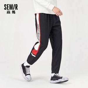 Semir Rahat Pantolon Erkekler Pantolon Gevşek 2020 Yeni Ayak Pantolon Retro Trend Spor Pantolon Sonbahar Adam