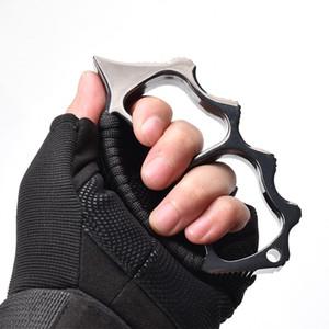 Messing-Knöchel Taktisches Überleben Multifunktionale Selbstverteidigung EDC-Duster-Tool