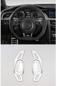 Pinalloy Silver Metal Alloy Made DSG Paddle Shifter Extension for Automatic Steering Wheel A5 S3 S5 S6 SQ5 RS3 RS6 RS7 2014-17