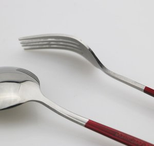 24pcs set Black Gold Dinnerware Cutlery Set Dessert Fork Flatware Set 18 10 Stainless Stee Kitchen Table jllAIy eatout