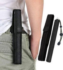 보호 장비 야만적 인 방어 스테인레스 스틸 거부 스틱 3 개의 연장 가능한 배턴 자동차 자기 방어 스틱 모조 플라스틱 스틱