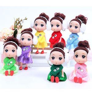 12 см зимой новый шарф путаница кукла привет Мэн барби брелок детские новогодние подарки для ребенка взрослый
