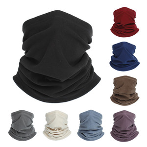 Winter Windproof Neck Gaiter Warm Black Face Mask Solid Color Gaiters Face Mask mens womens Angora Fabric Kakashi Mask