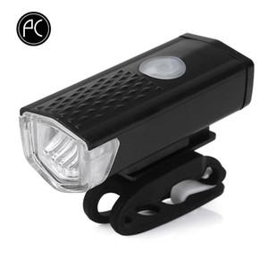 Cycling Bicycle Light 3W LED impermeable LED MTB Bike Bike Light Ciclismo Cabecera delantera 3 Modos USB Lámpara recargable