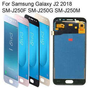 J250 LCD Orijinal Samsung Galaxy J2 2018 Için AMOLED SM-J250F SM-J250G SM-J250M LCD Ekran Dokunmatik Ekran Digitizer Meclisi