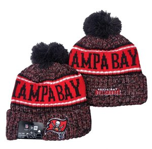 2020 New Top Quality Men Women Winter TB Tampa Bay Popular Beanies Brand Fans Hip Hop Baseball Cuffed Knit Caps Skull Out Door Beanie Hats