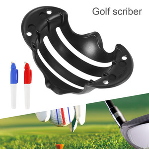 Golf Ball Line Clip Liner Marker Pen Template Alignment Marks Tool Putting Positioning Aids Outdoor Sport Tool for Dropshipping