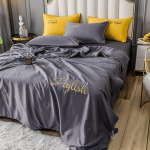 Gestickter Sommer Home Quilt Blanket Bett Baby Infant Cometer Recliner Möbelabdeckung Tröster Drop Shipping