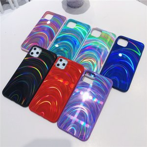Holographic Prism Laser Case for iPhone 12 Mini XR XS Max Cases 3D Rainbow Glitter Phone Cover for iPhone 11 Pro SE 2020 7 8