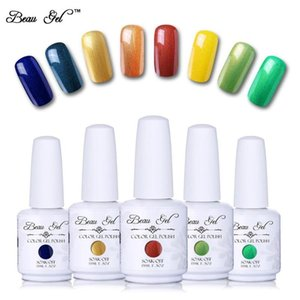 Beau Gel 15ml UV Gel Nail Polish Glitter Nail Polish Manicure Varnish Gels For Art Soak Off UV LED Gelpolish
