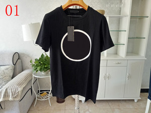21ss New Hombres Mujeres Diseñadores T SHIRTS Hombre Moda Hombres S Ropa Casual Camiseta Calle Shorts Mensajes 2020 Ropa para mujer Tshirts 2021