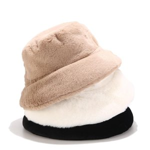 Cappelli da viaggio in pelliccia sintetica in pelliccia sintetica