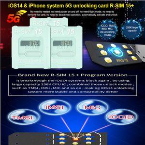 RSIM15+ For iOS14 Unlock Card R-SIM15+ RSIM 15 Dual CPU Upgraded universal unlocking for iPhone 12 11 XR X 8 7 ios7-14.x