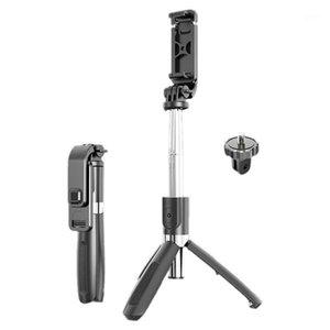 Portátil Bluetooth Selfie Stick Trípode Handphone Live Photo Holder Tripod Camera Agotador con control remoto1