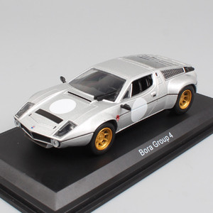 Children's 1:43 Scale classic Bora Group 4 Tipo 117 cars sports coupe racing V8 die cast models vehicles Toy car for Collectable Z1202