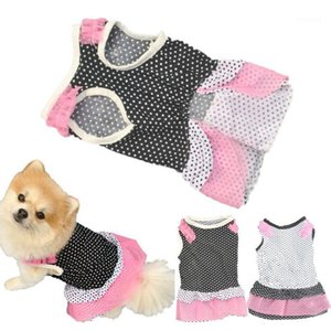 2019 hot Summer Dog Dress Pet Dog Clothes for Small Wedding Dress Skirt Puppy Clothing Spring Fashion Jean Pet Clothes XS-L1