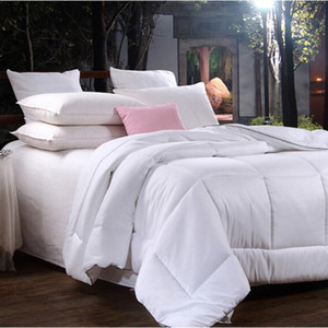 Cotton White Comforter Bedding Sets Satin Strip Luxury Duvet Sets Bed Pillowcases Beddings Soft Textile And Cover Home