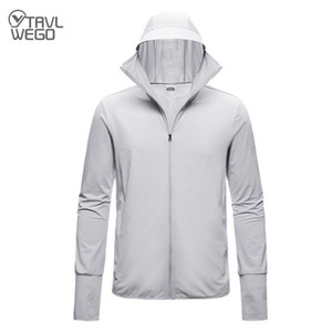 TRVLWEGO Summer Riding Electric Car Sun Protection Clothing Masked Hooded Quick-drying Breathable Lovers Sunscreen Skin Jackets Q1202