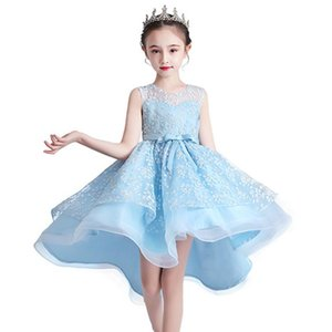 Teens Girls Dress Party Princess Baby Girls Clothes Kids Lace Wedding Dresses for Festival Performance Elegant Prom Dress