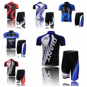 2019 Summer Cycling jersey Pro team GIANT team Bike Short Sleeve Clothing men racing Bicycle Sportwear Set H70333