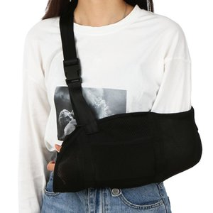 Adjustable Arm Sling Arm Wrist Fracture Support Strap with Waist Strap Shoulder Protector Fixation Belt Pad for Elbow