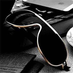 7Motorcycle Smart Color Change Glasses Occhiali da sole congiunti Occhiali da sole larga Polarizzatore di avvio
