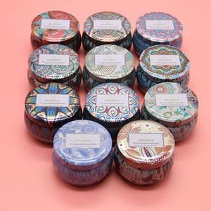 Kerzengläser Tin Boxes Europäischen Stil Dekoration Kerze Blechbox Candy Boxes Tee Box XD24144