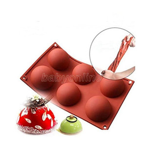 Half Ball Silicone Cake Mold Muffin Chocolate Cookie Baking Mould Pan Muffin Bakeware Kitchen Cake Chocolate Mould Accessories