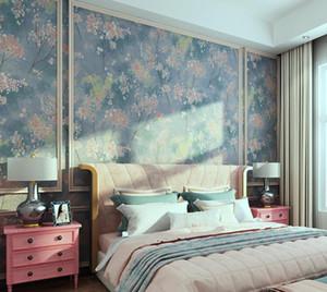 Garden Style Bedroom Living Room Warm Romantic Non-woven Wallpaper Sofa TV Background Wall Paper