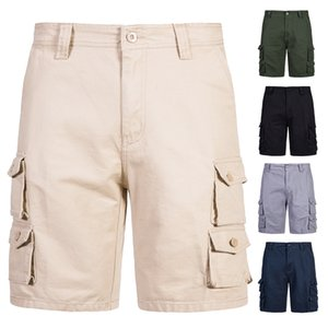 Mens Military Cargo Shorts 2021 Brand New Army Tactical Shorts Trousers Men Cotton Loose Work Casual Short Pants YK051