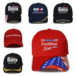 Biden Baseball Cap US Election 2024 Embroidery Letter Build Back Better Camouflage Snapback Hat Outdoor Sun Unisex Hats SEASHIPPING LJJP821