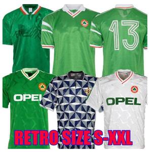 1994 Ireland Retro 90 92 Socceres Jersey World Copa Ireland Home Hot Classic Sheedy Tailândia Qualidade 1990 1992 Futebol Calcio