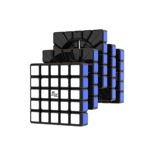 Newest YJ MGC 5 M Cube 5x5x5 magnetic magico cube yongjun MGC 5 magnets 5x5 Speed puzzle magico cubo Educational Toys 201224