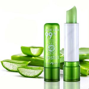 Moisture Lip Balm Long-Lasting Natural Aloe Vera Lipstick Color Mood Changing Long Lasting Moisturizing Lipstick DHL Free