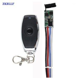 433mhz DC 1CH 3.6V 8V 12V 24V Mini Relay Wireless RF Remote Control Switch Power LED Lamp Controller Micro Receiver Transmitter1