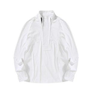 Topstoney Stand Collier Pull Jumper 2020fw Konng Gonng Gonng Spring et Automne Hommes Sweaters Hommes Jumper Sport Coat Mens Sweat-shirt